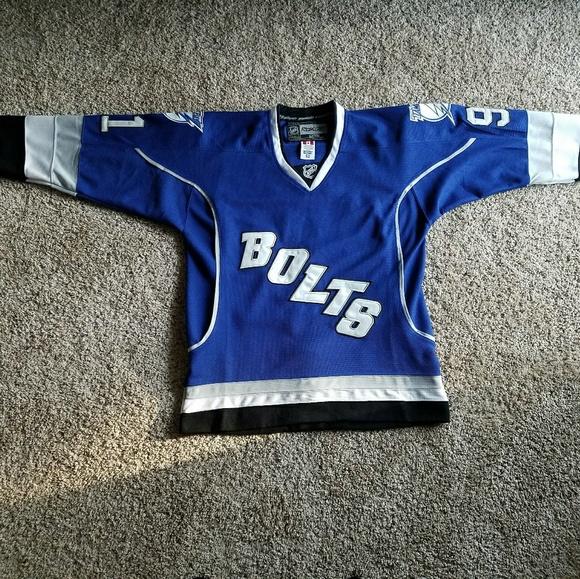 1d8ca560 Reebok Suits & Blazers | Vtg Nwt Tampa Bay Boltz Lightning Hockey ...